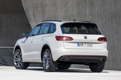 VW Touareg One Million - rear