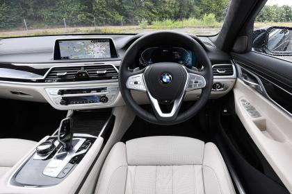 BMW 7 Series - dash