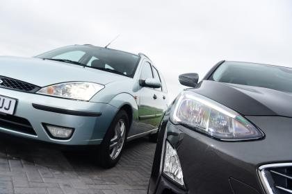 Long term review: Ford Focus Titanium X - side by side