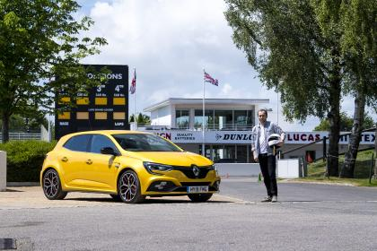 Renault Megane RS 300 Trophy trackday