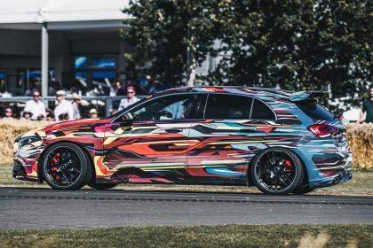 Mercedes-AMG A 45 S - side tracking Goodwood 2019