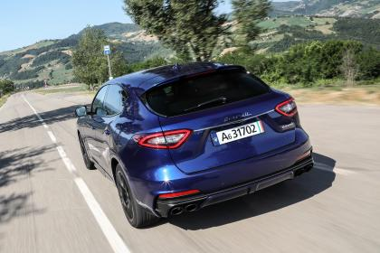 Maserati Levante Trofeo rear tracking