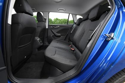 Skoda Scala rear seats