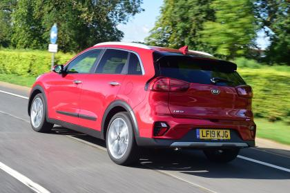 New Kia Niro Hybrid - rear