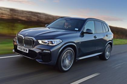 BMW X5 - front