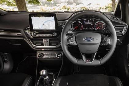 Ford Fiesta ST Performance - dash