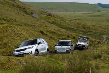 Green Laning  - All cars ascent