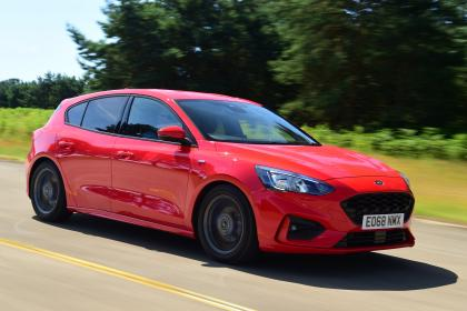 Ford Focus - front tracking