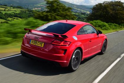 Audi TT RS - rear tracking