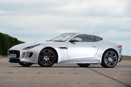 Used Jaguar F-Type - front