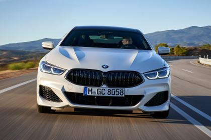 BMW 8 Series Gran Coupe - full front