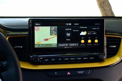 Kia XCeed - screen