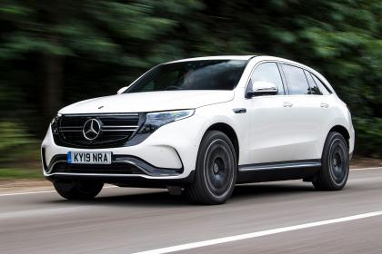 Mercedes EQC - front tracking