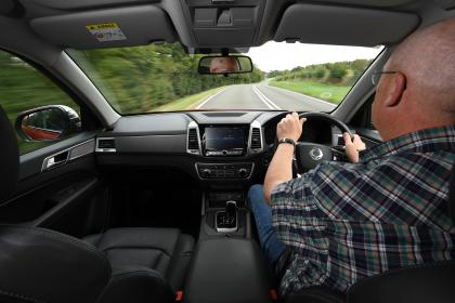 SsangYong Musso long term review - driving