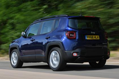 Jeep Renegade - rear tracking