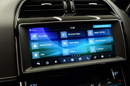 JLR tech secrets feature- infotainment screen