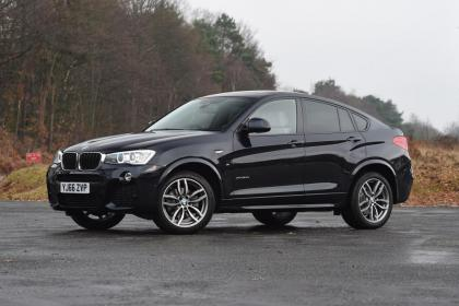 Used BMW X4 - front