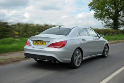 Used Mercedes CLA - rear
