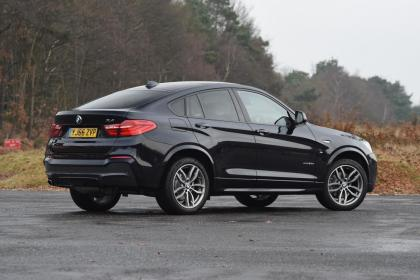 Used BMW X4 - rear