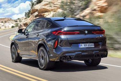 BMW X6 M Competition - rear