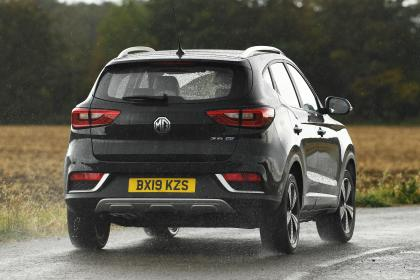 MG ZS EV - rear action