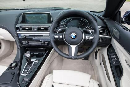 Used BMW 6 Series - dash