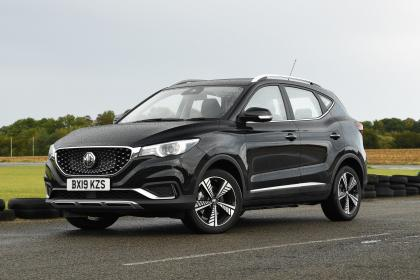 MG ZS EV - front static