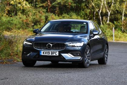 Volvo S60 saloon - front