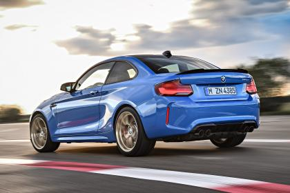 BMW M2 CS - rear action