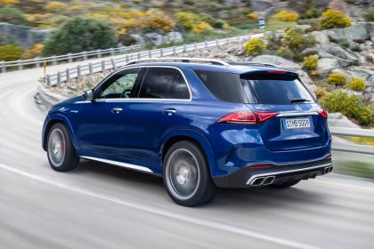 Mercedes-AMG GLE 63 S - rear