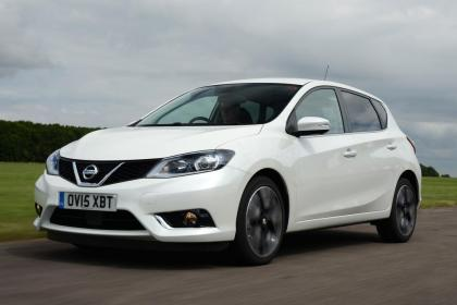 Used Nissan Pulsar - front action