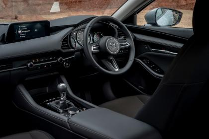 Mazda 3 saloon - interior
