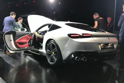 Ferrari Roma - reveal rear