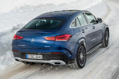 Mercedes GLC 400 d Coupe - rear tracking