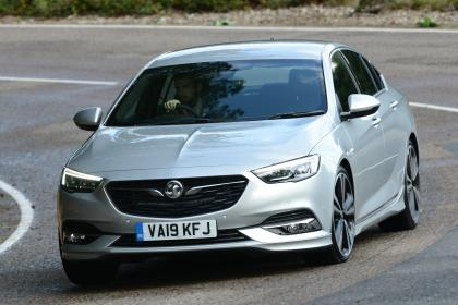 Vauxhall Insignia Grand Sport - front cornering