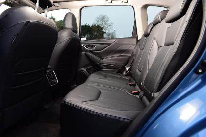 Subaru Forester 2020 in-depth review - rear seats