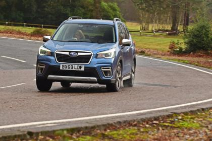 Subaru Forester 2020 in-depth review - front cornering