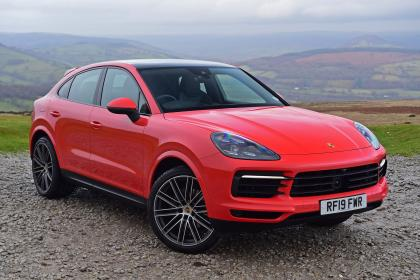 Porsche Cayenne Coupe - front static